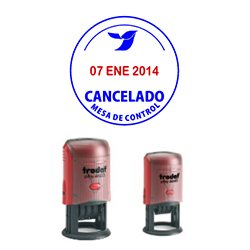 sello autoentintable Fech Red 46130, 46140