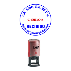 sello autoentintable Fech Red 46140